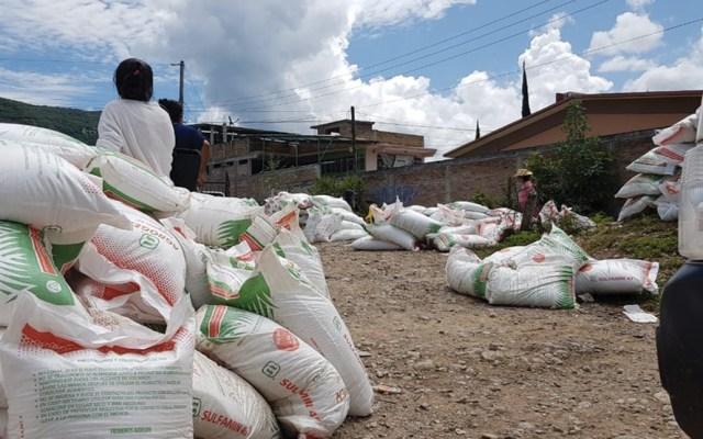 Saquean bodega de fertilizante en Mochitlán, Guerrero - Foto de Milenio