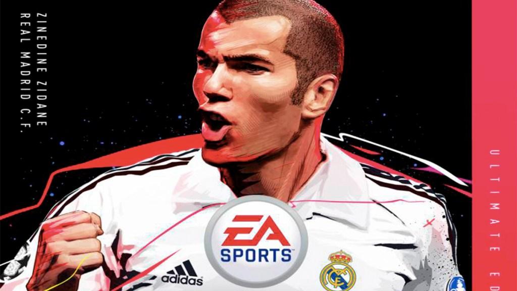 Zidane aparecerá en la portada de FIFA 20 - Zidane FIFA 20