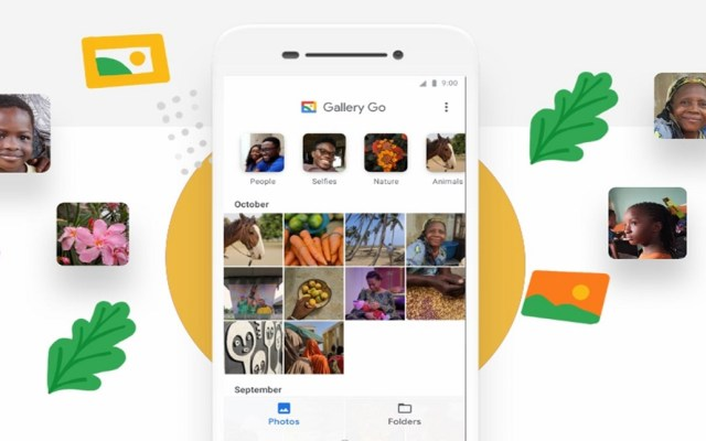 Google lanza su nueva aplicación de fotos 'Gallery Go' - 'Gallery Go' de Google. Foto de Google