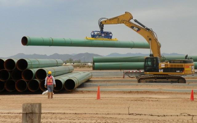 López Obrador llama al diálogo para lograr acuerdos en gasoductos - Gasoducto. Foto de IEnova