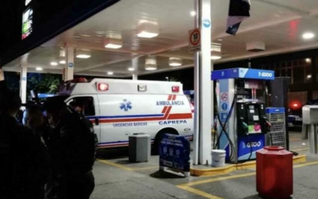 Encierran a trabajadores para robar dinero de gasolinera en alcaldía Venustiano Carranza - Foto de @ElBigDataMX