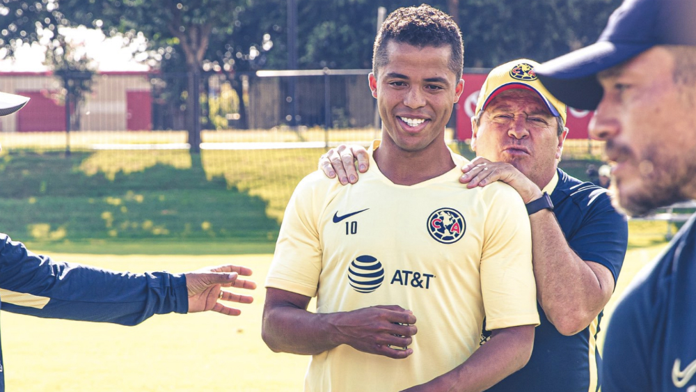 Giovani Dos Santos podría debutar este martes con América ante Pumas - Foto de @ClubAmerica