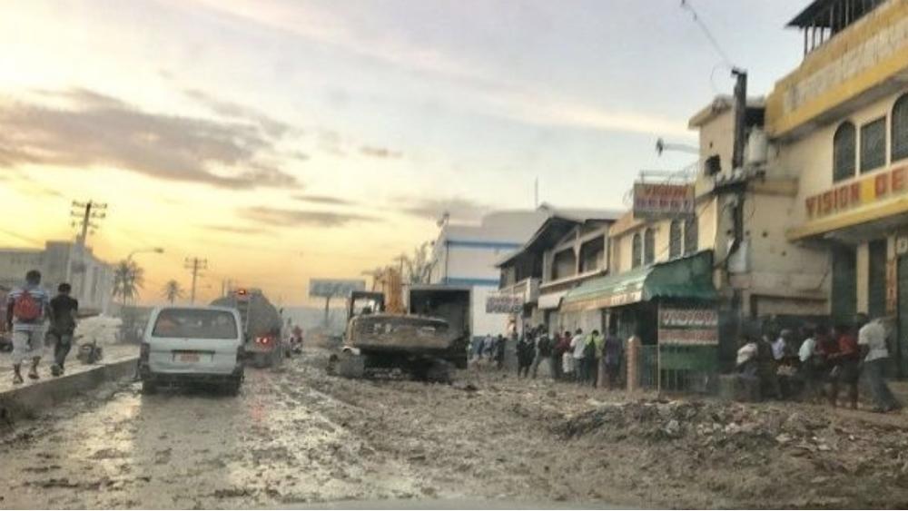 Lluvias torrenciales en Haití dejan seis muertos y tres desaparecidos - Foto de @teleSURtv