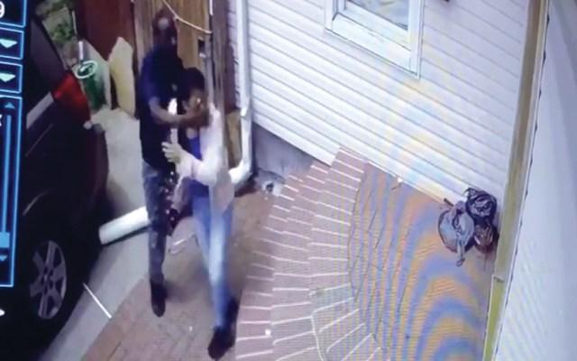 #Video Hombre intenta secuestrar a una niña de 13 años - Captura de pantalla