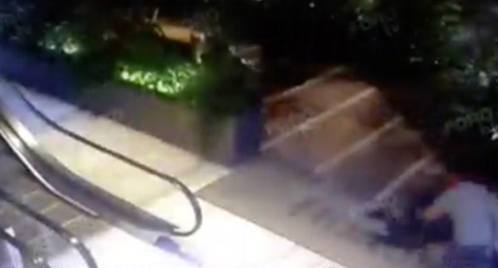 #Video Momento de la huída tras matar a israelíes en Artz Pedregal - Artz Pedregal