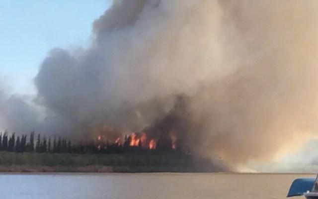 Incendios alcanzan cifra récord en el Ártico - Foto de CBC