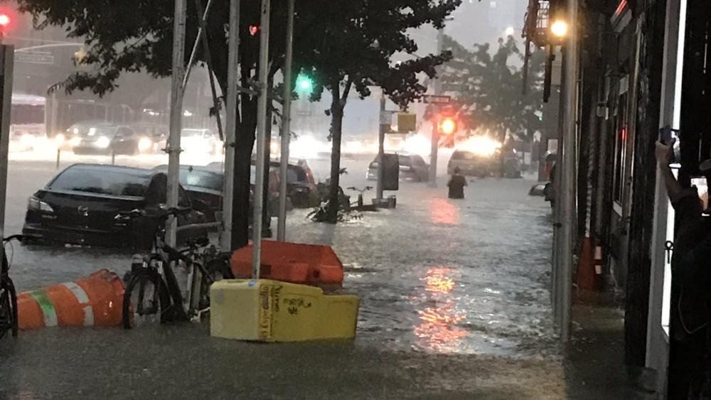 #Video Tormenta provoca inundaciones en Nueva York. Noticias en tiempo real