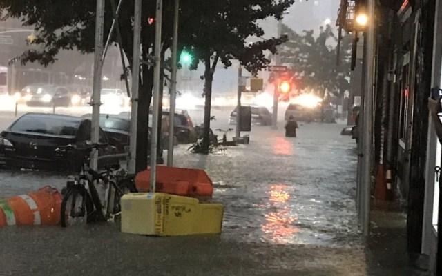 #Video Tormenta provoca inundaciones en Nueva York - inundaciones nueva york
