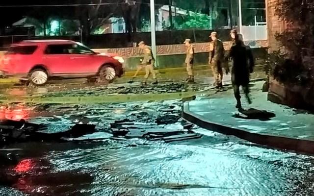 Sedena activa Plan DN-III en Tlajomulco por inundaciones - inundaciones tlajomulco