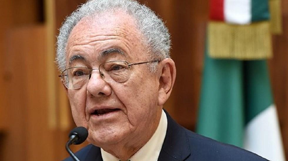 Jiménez Espriú revela que cancelación del NAIM no fue por corrupción - Javier Jiménez Espriú. Foto de @SCT_mx