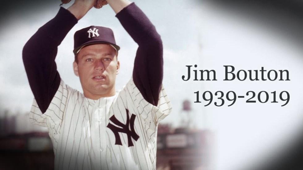 Muere lanzador de los Yankees JimBouton a los 80 años - Jim Bouton Yankees