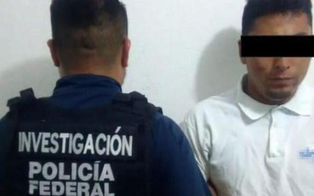 Detienen a 'El tacubayo' por cuatro delitos en Tabasco - Jorge F., 'El tacubayo'. Foto Especial / Milenio