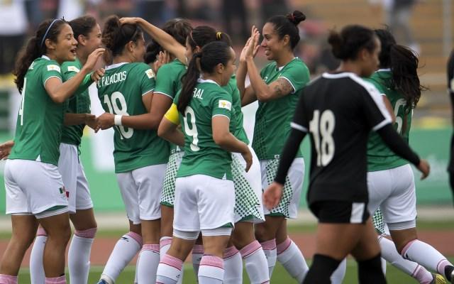 'Tri' femenil debuta con triunfo sobre Jamaica en los Panamericanos - Juegos Panamericanos México Futbol femenil