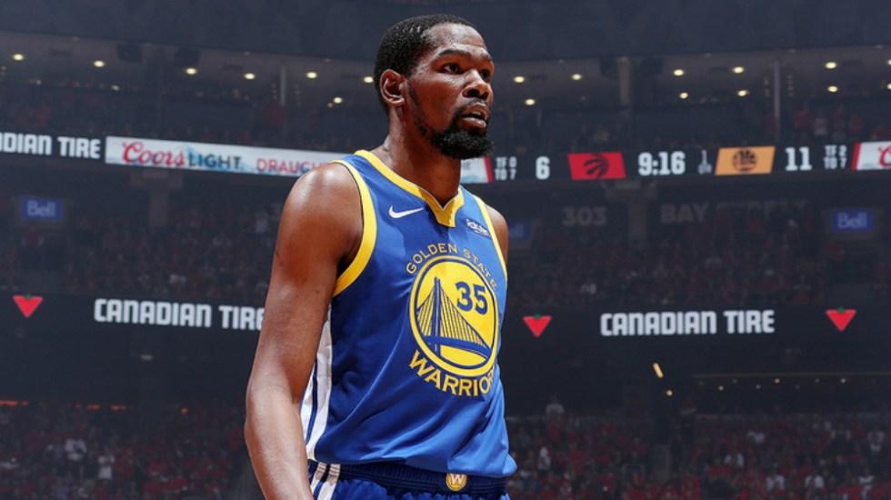 Warriors deciden retirar el número 35 de Kevin Durant - Foto de NBA