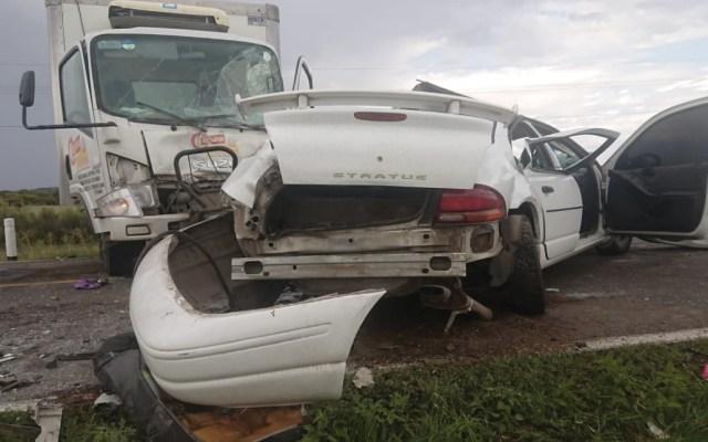 Accidente deja dos muertos en Durango - Foto de La Voz de la Laguna