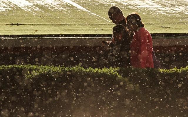 Lluvias generan afectaciones en el oriente de la Ciudad de México - Lluvia Ciudad de México lluvias tormentas