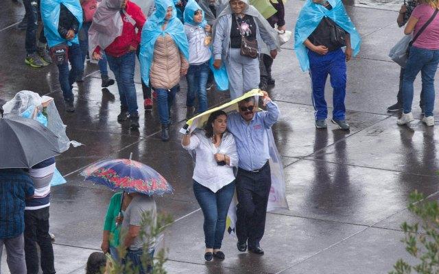 Lluvias de fuertes a muy fuertes se esperan en el Valle de México - Lluvias Ciudad de México