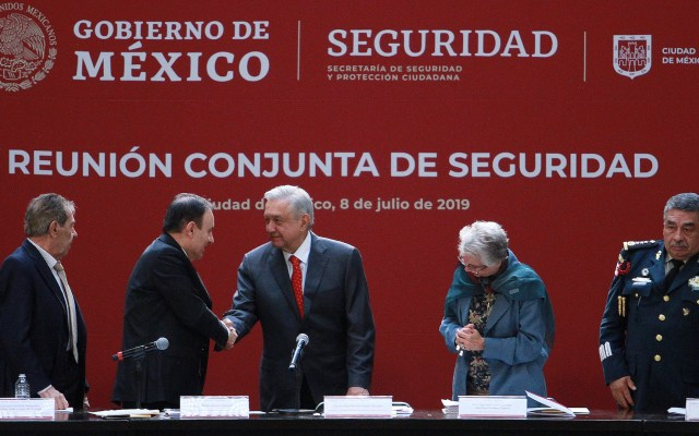 Policía Federal demostró no estar a la altura de las circunstancias: AMLO - López Obrador. Foto de Notimex- Francisco Estrada.
