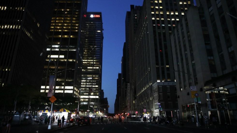 Restablecen energía eléctrica en zonas de Manhattan - Foto de EFE