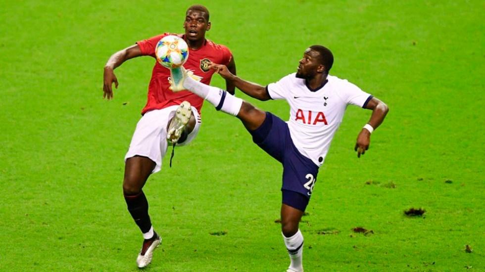 Manchester United vence a Tottenham en la International Champions Cup - manu tottenham