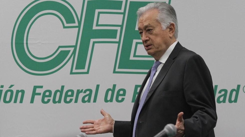 Sin fecha de inicio las mesas de conciliación entre CFE y empresas de gas - Manuel Bartlett CFE