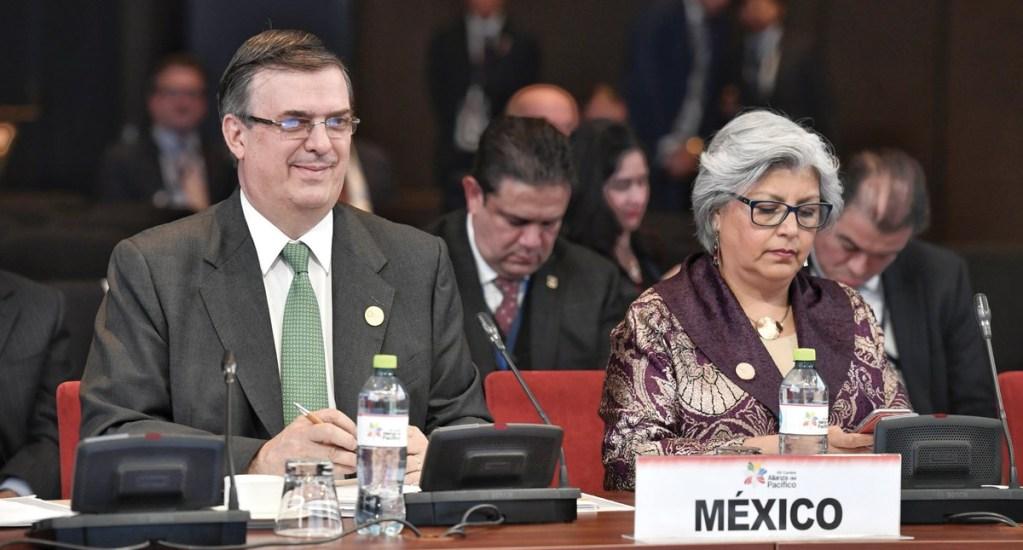 Ebrard y Márquez representan a México en Cumbre Alianza del Pacífico - Foto de Twitter Marcelo Ebrard