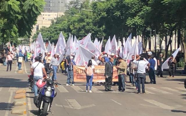 Siete movilizaciones complicarán el tránsito en la Ciudad de México - Foto de @vialhermes