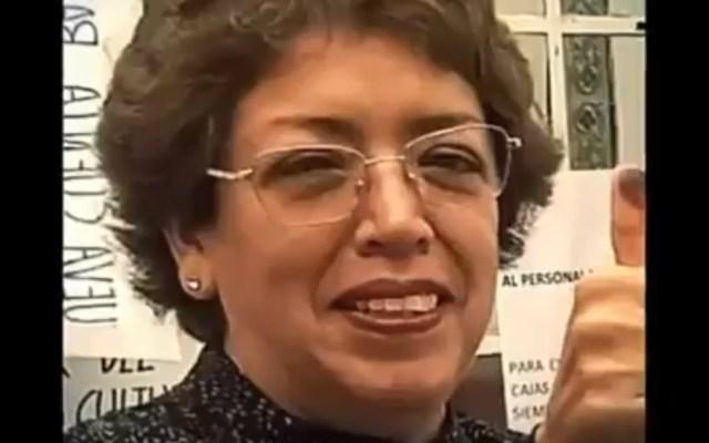 ONU condena homicidio de activista en la Ciudad de México - Activista María Cristina Vázquez Chavarría. Foto de Noticieros Televisa