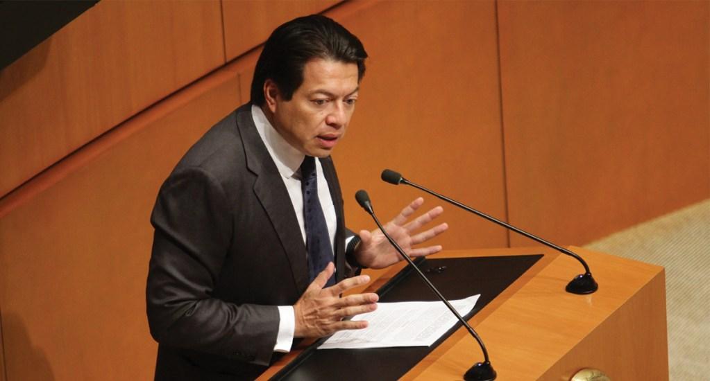 Sí quiero ser presidente de Morena: Mario Delgado. Noticias en tiempo real