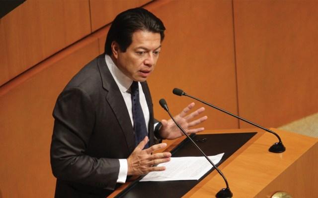 Hipócritas, legisladores panistas que aprobaron ampliación de mandato en BC: Delgado - Foto de Notimex