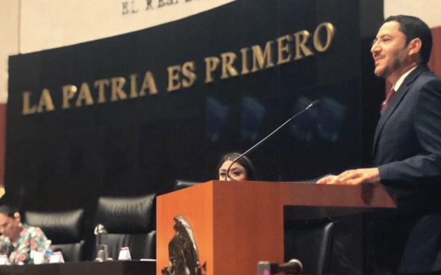 Batres confía que conflicto con policías federales se resuelva conforme a derecho - Foto de Twitter Martí Batres