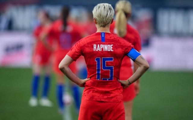 Futbol femenil debe llegar al siguiente nivel: Megan Rapinoe - Megan Rapinoe Estados Unidos