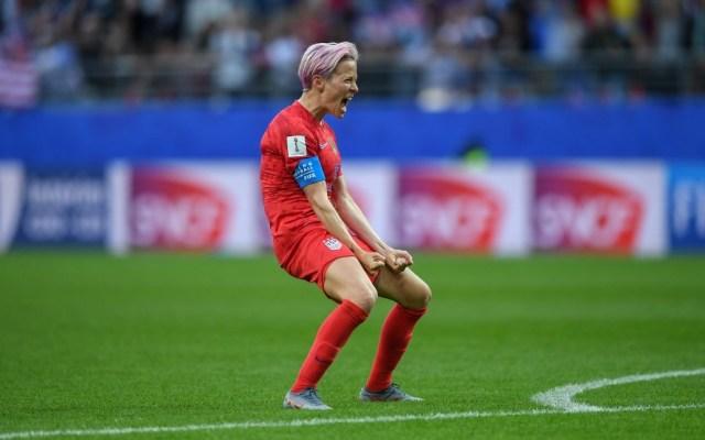 """""""No sentimos el mismo respeto que los hombres por parte de FIFA"""": MeganRapinoe - Foto de @mPinoe"""