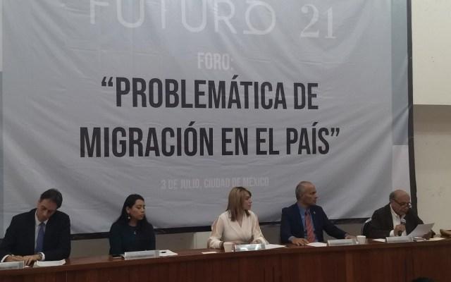 Urgen a definir política migratoria con respeto a los derechos humanos - Foto de @IgnacioPinacho