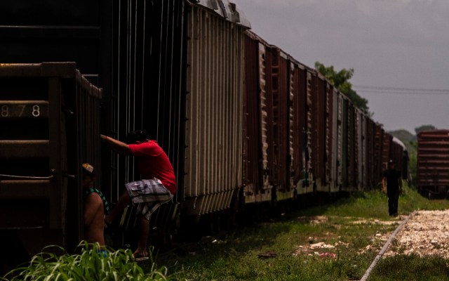 Expide Segob decreto que salvaguarda derechos de migrantes - Foto de Notimex- Ernesto Álvarez.