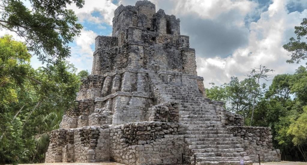 Reabren zona arqueológica de Muyil tras incendio en Sian Ka'an - Foto de Mayan Peninsula