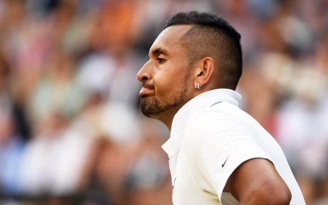 Kyrgios se niega a disculparse con Nadal por arrojarle pelota - Nick Kyrgios cayó ante Rafael Nadal en el Torneo de Wimbledon. Foto de EFE