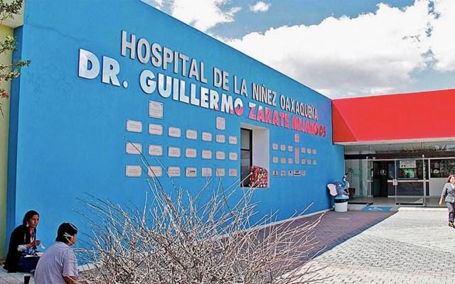 Atienden en Hospital de la Niñez en Oaxaca a niño con ojo lesionado - niño ojo lesionado hospital de la niñez oaxaqueña