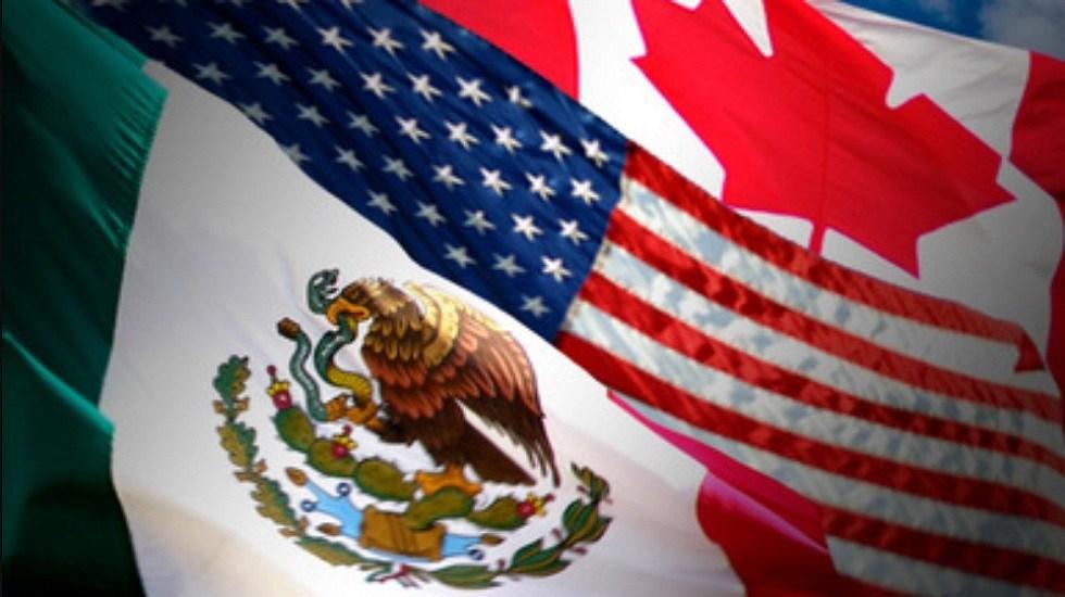 Expiden decreto que aprueba Protocolo que sustituye el TLCAN por T-MEC - Países que integran el T-MEC. Foto de SRE