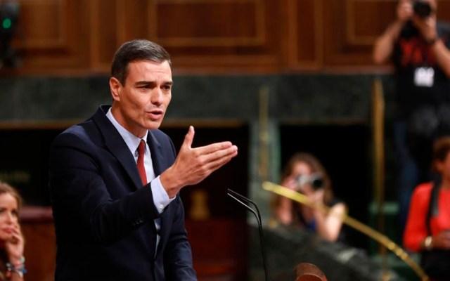 Pedro Sánchez ofrece discurso de investidura ante parlamentarios - pedro Sánchez parlamentarios