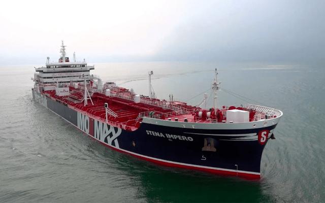 Irán anuncia captura de buque de bandera británica en estrecho de Ormuz - Irán captura petrolero británico