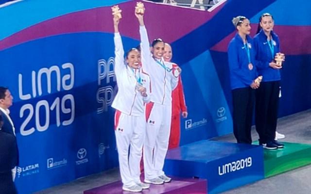 Mexicanas ganan plata en natación artística en Lima 2019 - plata nado sincronizado