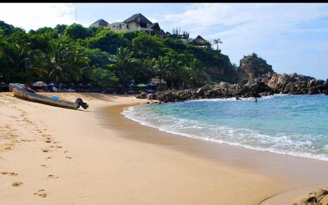 Alertan por mar de fondo en playas de Oaxaca - Playa Zicatela Oaxaca mar de fondo
