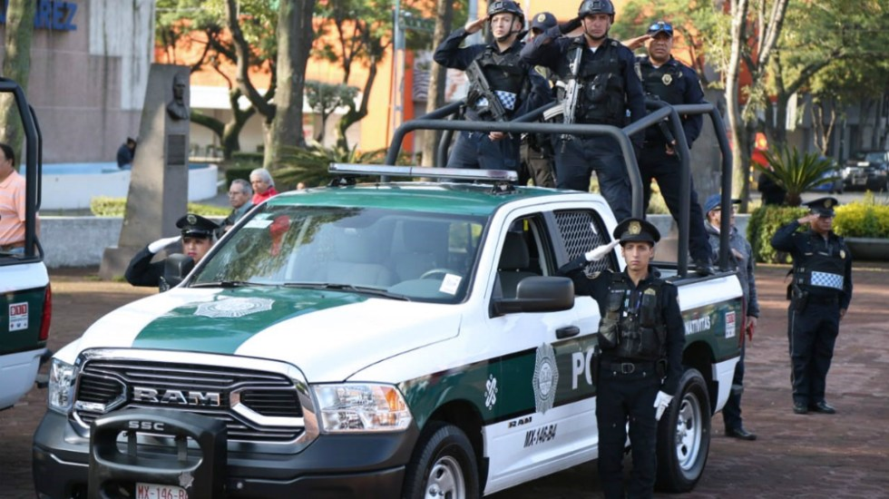 Detienen a cinco presuntos miembros de La Unión Tepito en la Guerrero - Elementos de la SSC