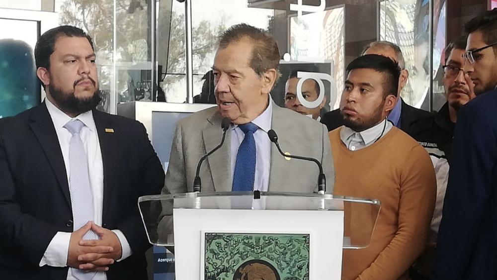 Deseo que la próxima presidenta de México sea una mujer: Muñoz Ledo - Foto de @NoticiaCongreso
