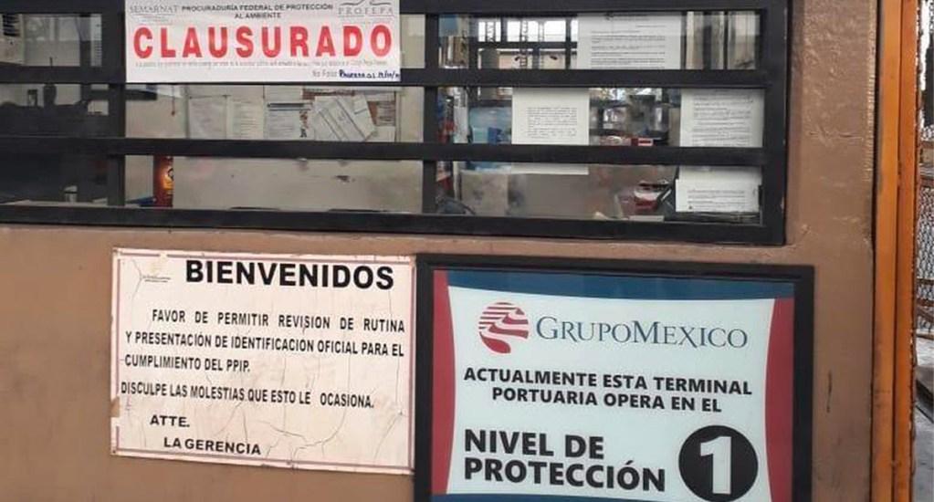 Profepa clausura Terminal Marítima de Mexicana de Cobre en Sonora. Noticias en tiempo real