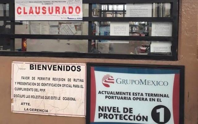Profepa clausura Terminal Marítima de Mexicana de Cobre en Sonora - profepa