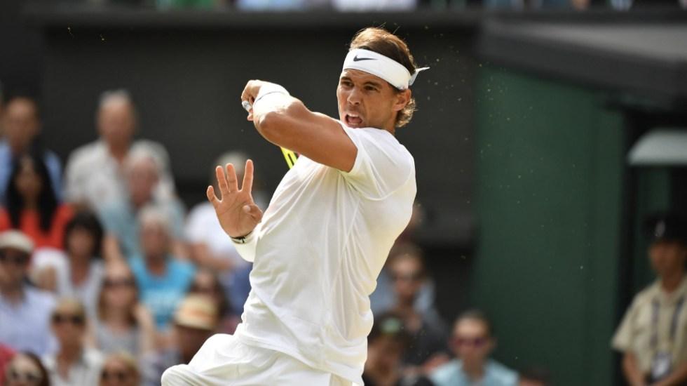 """""""He perdido otra oportunidad de estar en la final de Wimbledon"""": Rafael Nadal - Foto de @Wimbledon"""