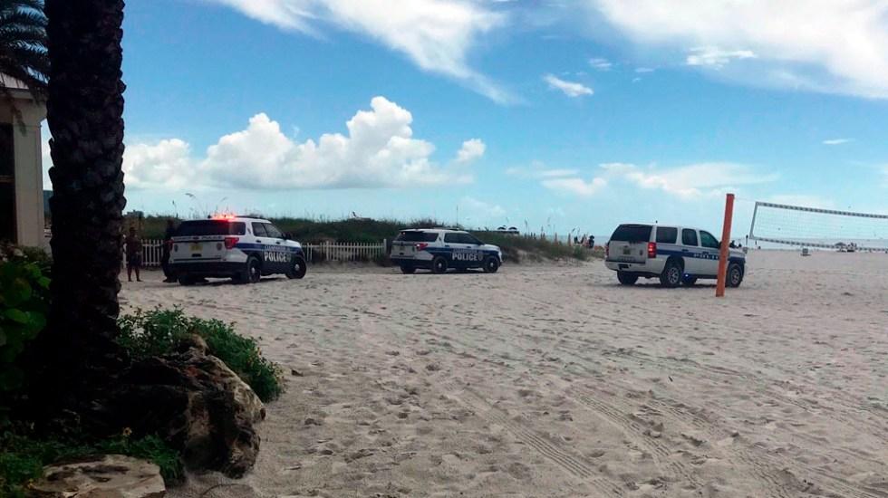 Rayo deja ocho heridos en una playa de Florida - rayo playa florida