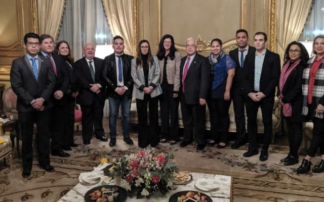 Subsecretaria de Estado de EE.UU. se reúne con portavoz de Guaidó en Argentina - Foto de Twitter Kimberly Breier